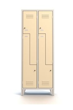 Armadio Multivano Spogliatoio  4 Ante a Z multifunzione 4 Posti in lamiera di acciaio alta qualità - Serratura a cilindro inclusa - N.2 Colonne - N.4 Vani - Armadietto mm 690x500x1800 - Metri Cubi 0,62 - Vano (LxPxH) 358/170x480x1140 mm. Capacità Litri Kg.41. Avorio RAL 1015. Colori Assortiti di Design. Made in Italy. Qualità Superiore. Adatto a qualsiasi locale, Hotel, Ristoranti, Uffici Open, Palestre, Spogliatoi Calcio, Spa, Motel. Accattivante anche per Living/Home. Info Whatsapp… Fitness Studio, Lockers, Locker Storage, Home Decor, Closets, Interior Design, Cabinets, Home Interior Design, Cubbies