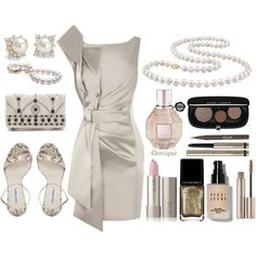 Going Out! by gemique on Polyvore featuring Steve Madden, Alice + Olivia, Miadora, Blue Nile, Bobbi Brown Cosmetics, Laura Mercier and Stila