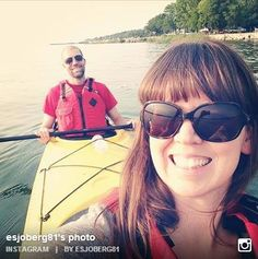 DOOR COUNTY WEDDINGS THIS WEEK ~ Congrats to this couple enjoying the great Door County outdoors, kayaking on their anniversary trip.