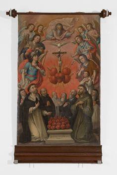 Autor desconocido Siglo XVIII Óleo sobre tela 124 x 88.5 cm. Colección Museo de Historia Mexicana. Pintura de viaje - 3 Museos