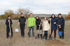 Planting trees in Comrat, Moldova, during the Finals of the MEGA Impact 2015 Championship. United Nations Development Program, Moldova, Trees To Plant, Planting, Finals, Environment, Couple Photos, Couple Shots, Plants