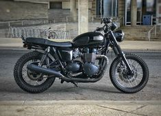 My Triumph Bonneville T100 Black