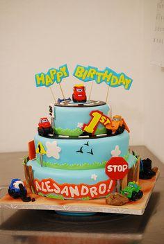 Chuck & Friends Cake