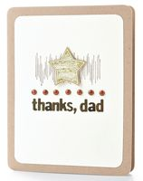 Thanks Dad Card by @Tanis Giesbrecht - supplies and instructions included #Fathersday