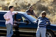 Still of Bradley Cooper, Zach Galifianakis and Ed Helms in The Hangover Part III