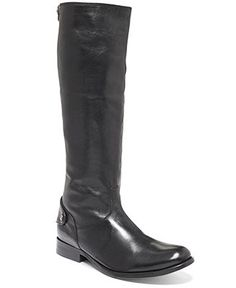 Frye Women's Melissa Button Back Zip Boots - Shoes - Macy's cognac