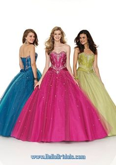 Hellobridals.com Sell Cheap Mori Lee 84600 Dress. Colors Available: Mediterranean, Berry, Olive for the Silky Taffeta/ Tulle combination. Pearl/Pool, Pink/Tulip, Cerise/Black, Champagne/Blush for the Satin/Tulle combination.