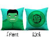 Hulk pillow, throw pillow, the avengers, decorative pillows, nerd, geek, gifts for men, incredible hulk, christmas, birthday, presents