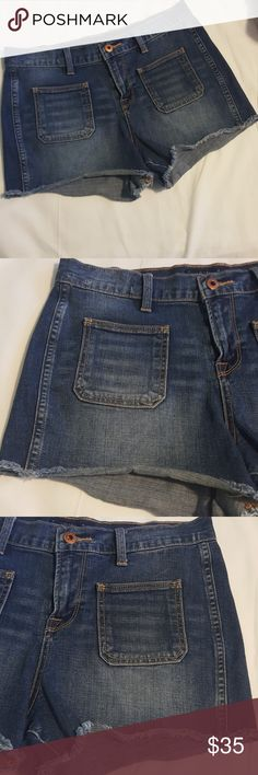 Lucky Brand Jean Shorts Cutoff 8/29 Lucky Brand Jean Shorts Cutoff 8/29 Inseam measures 3 inches   Bundle two and save twenty percent  All reasonable offers considered Lucky Brand Shorts Jean Shorts