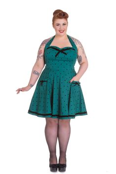 PRE ORDER: Jolene Dress - Green