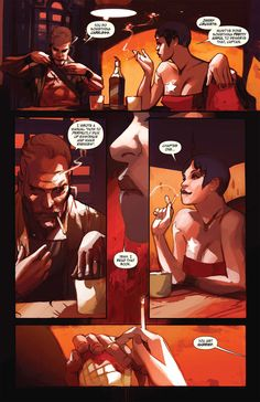 From Last Days of American Crime, words by Rick Remender, art by Greg Tocchini