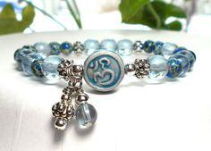 Om Charm Yoga Bracelet – BlueStoneRiver