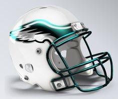 Philadelphia Eagles Concept Helmet c296b1d27