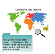 Identifying Continents and Oceans