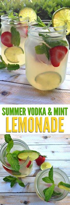 Refreshing summer vodka mint lemonade cocktail recipe the perfect adult drinks for entertaining on those warm summer days! Refreshing summer vodka mint lemonade cocktail recipe the perfect adult drinks for entertaining on those warm summer days! Lemonade Cocktail, Cocktail Drinks, Fun Drinks, Yummy Drinks, Healthy Drinks, Fun Summer Drinks Alcohol, Strawberry Vodka Lemonade, Vodka Fruit Drinks, Summer Drinks