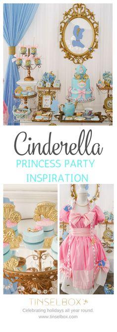Dreamy Cinderella Birthday Party