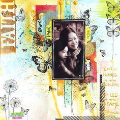 Faith Layout by Irene Tan using BoBunny Faith Collection