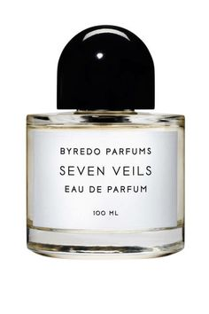 Inspired by Salome's biblical dance, Byredo Seven Veils reveals a succession of exotic notes as it's worn, including carrot, tiger orchid, and vanilla bean.
