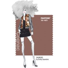 PANTONE Fashion Color Report Fall 2014 –Cognac –SAUNDER by Emily Saunders