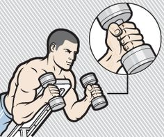 3 Rows You Must Do for Thicker Biceps - - Stretch the limits of your shirtsleeves by learning a completely new way to sculpt your arms. Tips Fitness, Muscle Fitness, Dumbbell Workout, Workout Exercises, Dumbbell Exercises, Workout Men, Training Exercises, Workout Guide, Workout Plans
