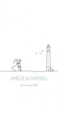 Menu de mariage (wedding menu) : Promesse - by Marion Bizet pour www.fairepart.f... - #Bizet #de #mariage #Marion #Menu #pour #Promesse #Wedding #wwwfairepartf