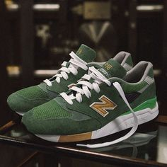 """The upcoming New Balance 998 """"Greenback"""" by J Crew drops next weekend. Get a closer look at this release on SneakerNews.com #instatag #kicks0l0gy #nicekicks #puma"""