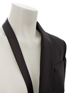 Jean Paul Gaultier | Half Blazer Jacket Black | Buy Jean Paul Gaultier at Hervia.com