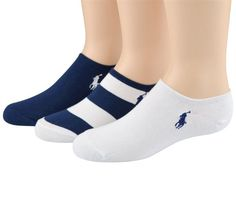 Polo Ralph Lauren girls Rugby Ped socks white/navy « Clothing Impulse