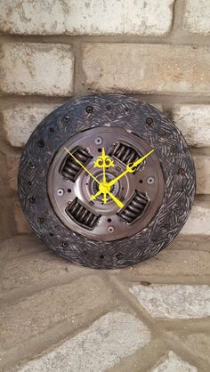 Steampunk clock 9 inch Created by atomicvault9 9/2/16