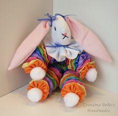 Handmade Yoyo Bunny