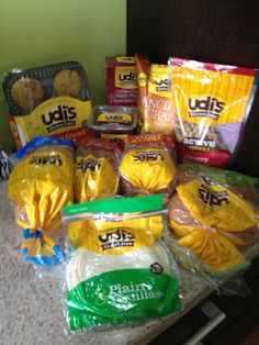 Udi's Gluten Free Snack Review
