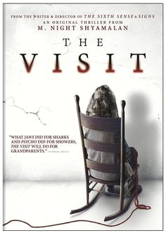 The Visit by M. Night Shyamalan. Love to watch scary movies with a twist.