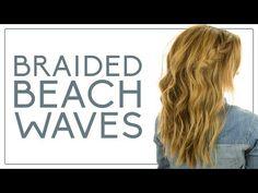 Braided beach waves