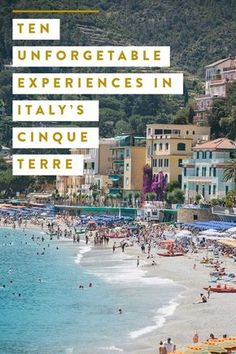 best things to do in Cinque Terre Travel Guide cinque terre italy, food, restaurants, hike, hiking, beach, beaches, travel guide, itinerary, adventure, trails