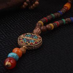 fashion-evade-font-b-enamell-b-font-ethnic-necklace-life-tree-vintage-plate-Nepal-jewelry-handmade.jpg (800×800)