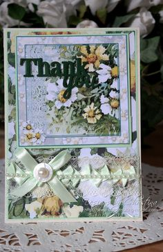 thank you card by Christina Griffiths