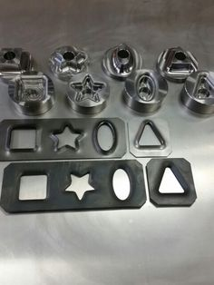 We're the first and only company in the world making shaped dimple dies. Increase the strength of your parts while making them lighter and finally more unique than your competitor's. $499 shipped for the set. Comes with DXF files of cut shapes and a metal plasma cutting guide. https://www.roguefab.com/product.php?id=163