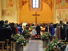 Uno scorcio del altare maggiore
