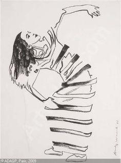 Andy Warhol - Martha Graham