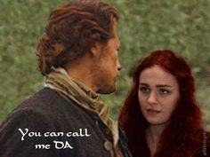Drums of Autumn quote.  Brianna travels 200 yrs back thru the stones to find the father she never knew. Jamie sees his daughter first time asks her to call him Da Outlander Season 4, Outlander Fan Art, Outlander Casting, Sam Heughan Outlander, Outlander Quotes, Diana Gabaldon Books, Diana Gabaldon Outlander Series, Outlander Book Series, Outlander Tv Series