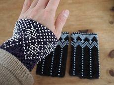 バルト。。。民芸のぬくもり。 : comme ci comme ça Fingerless Gloves, Knitting, Fingerless Mitts, Tricot, Fingerless Mittens, Breien, Knitting And Crocheting, Crochet, Cable Knitting