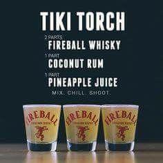 Tiki Torches, Fun Shots, Rosemary Cocktail, Shot Recipes, Drink Recipes, Whisky, Mojito, Shot Glass, Margarita