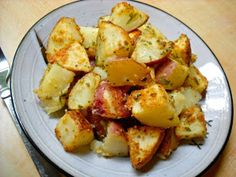 http://www.budgetbytes.com/2009/11/parmesan-roasted-potatoes/