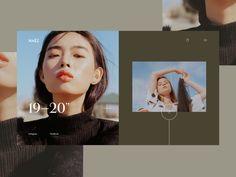Naëz Landing Page website concept website adobe xd homepage ui ux ecommerce con Website Design Inspiration, Website Design Layout, Web Layout, Graphic Design Inspiration, Layout Design, Minimal Web Design, Flat Design, Brand Design, Design Responsive