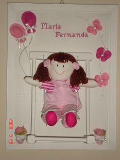 quadrinho boneca no balanço
