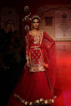 Suneet Varma at India Bridal Fashion Week 2014