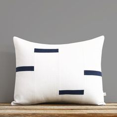 NEW Interconnection Pillows, Cream and Black Dash Pillow Cover by Jillian Rene Decor, Scattered Lines Stripes, Black and White Footer Design, 2020 Design, One Design, Navy Pillows, Throw Pillows, Pillow Inserts, Pillow Covers, Milk Shop, Pillow Inspiration