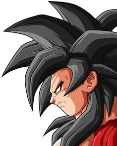 Goku SSJ 4 by drozdoo on DeviantArt Dragon Ball Gt, Pokemon Fusion, Fanarts Anime, Manga Anime, Anime Characters, Akira, 4 Tattoo, Awesome Anime, Anime Comics
