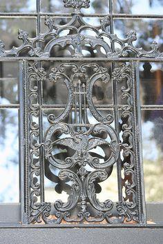 Wrought Iron Bird Design, Savannah, Ga. by Creating Character, via Flickr