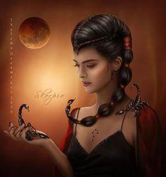 Scorpio Star Sign, Scorpio Art, Zodiac Art, Zodiac Scorpio, Astrology Pisces, Zodiac Signs, Zodiac Characters, Story Characters, Gothic Wallpaper